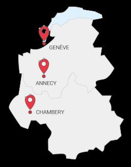 Annecy - Genève - Chambéry